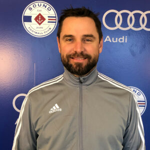 Sound FC Executive Director Joe Hampson